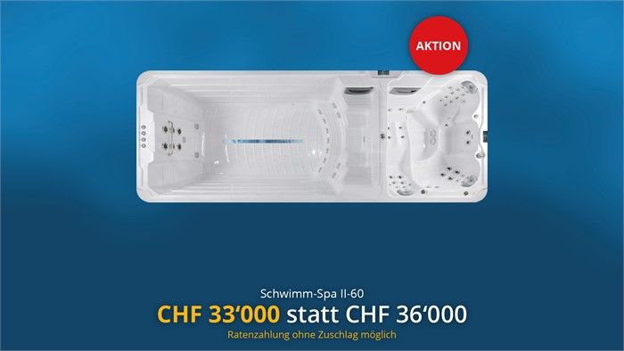 Schwimm-Spa II-60 in Aktion